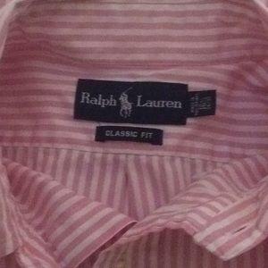 Ralph Lauren Shirts - Ralph Lauren men's Blue Label casual dress shirt L